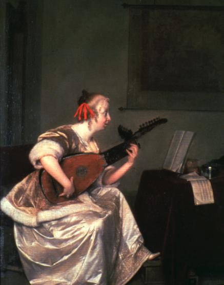 pictures of lute players